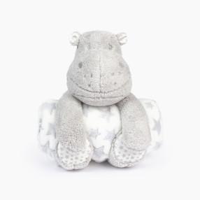 Плюшена играчка с одеяло HIPOPLA