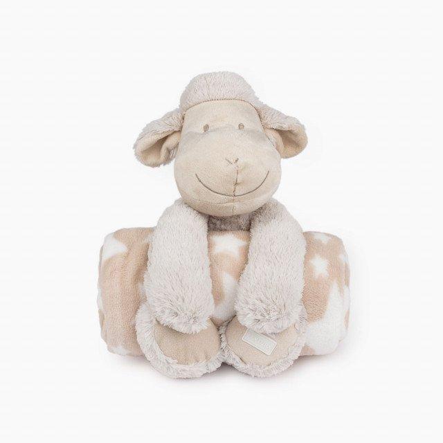 Плюшена играчка с одеяло Ovejapla