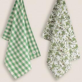 Комплект от две кухненски кърпи CAMPIX
