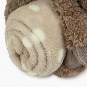 Плюшена играчка с одеяло Reinypla