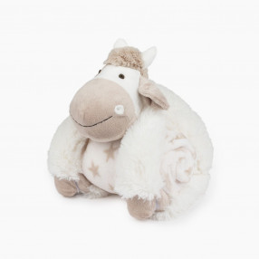 Плюшена играчка с одеяло Vacapla