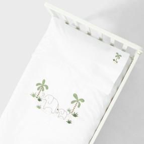 Плик за завивка и калъфка за възглавница Elefant
